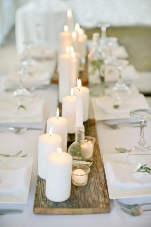 Weathered Wood Table Runner