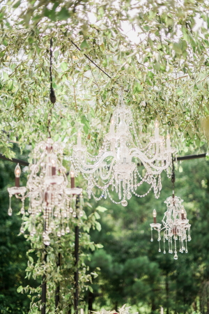 Wedding Chandelier Decor