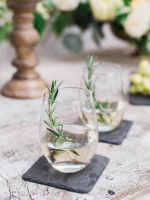 Wedding Cocktails on Slate Coasters