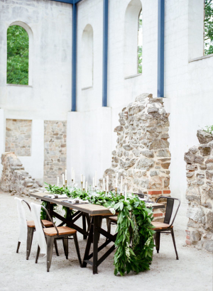 Wedding Inspiration in Historic Ruins