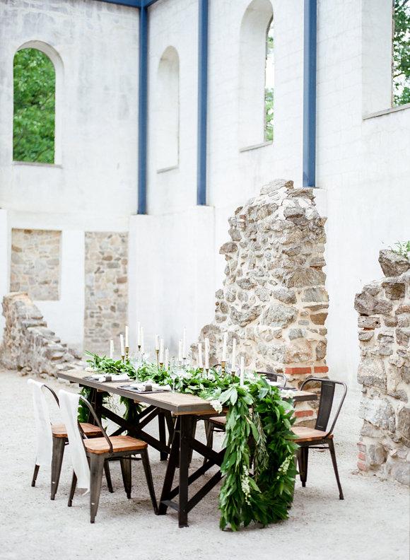 Wedding Inspiration in Historic Ruins
