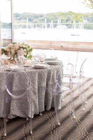Wedding Table in Ocean Tones
