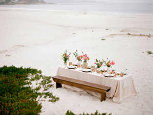 Wedding Table on the Beach