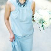 Blue Bridesmaids Dress