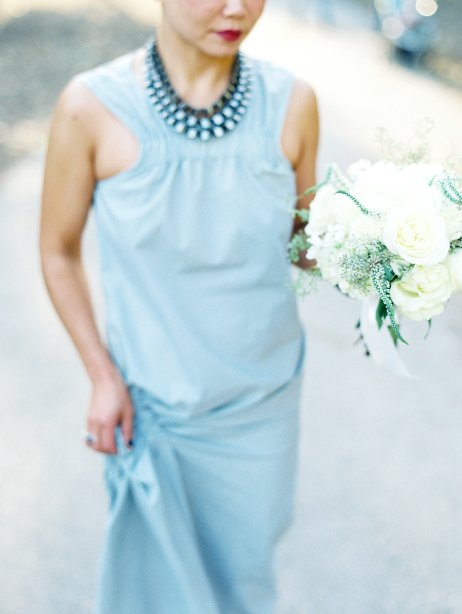 Blue Bridesmaids Dress