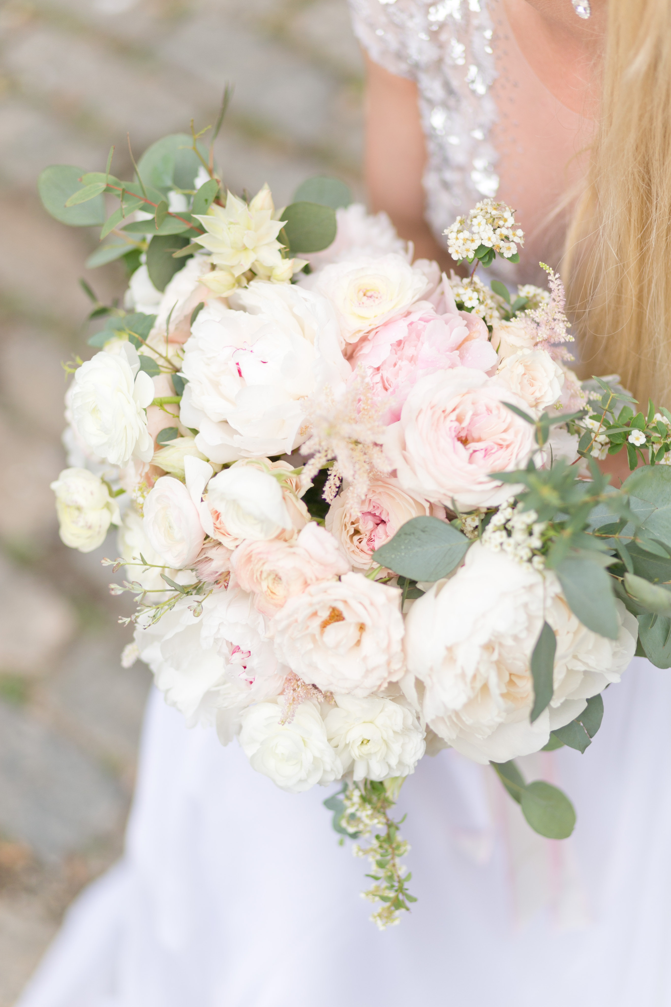 Blush and White Bouquet - Elizabeth Anne Designs: The ...