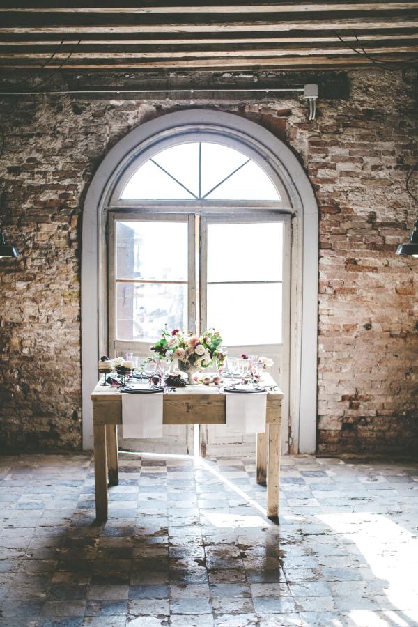 Brick Loft Wedding Inspiration
