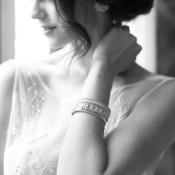 Bride in Elegant Jewelry