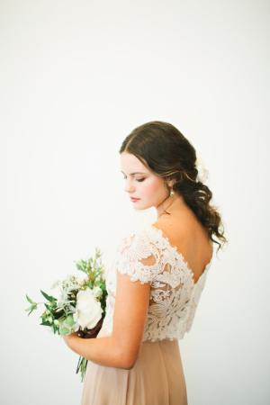 Bride in Mauve