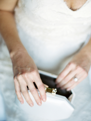Bride with White Clutch
