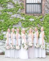 Bridesmaids in Dove Gray