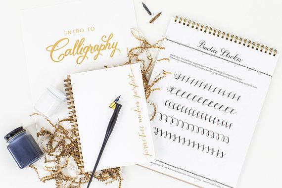 Calligraphy Starter Kit Gift Idea