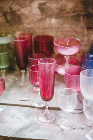 Crimson Glass in Murano