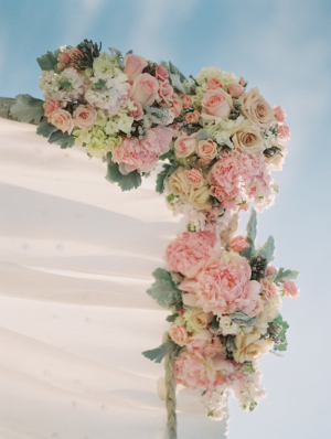 Details on Ceremony Arch