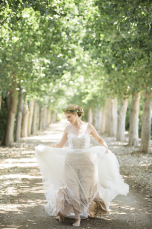 Elegant Garden Wedding Bride