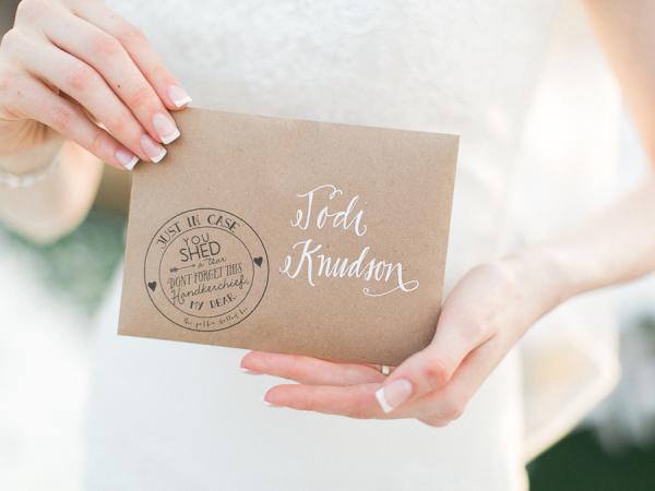 Handkerchief Wedding Gift