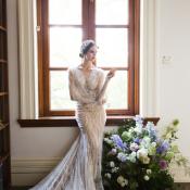 Inbal Dror Lace Column Gown