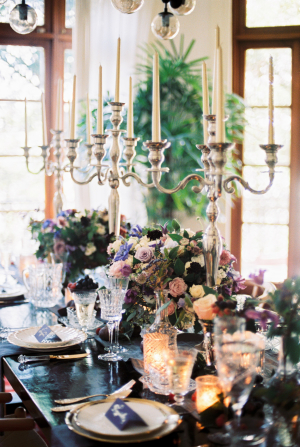 Jewel Tone Centerpiece