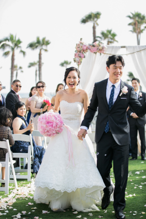 Just Married Esther Sun