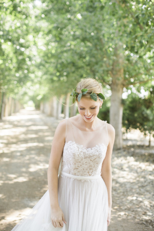 Lace Bodice Wedding Gown