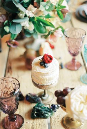 Mini Cake for Place Setting