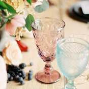 Plum and Mint Glassware