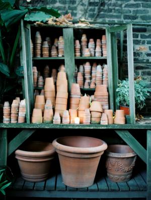 Pottery at Wedding Venue