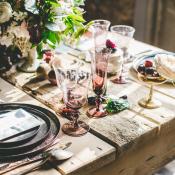 Reclaimed Wood Wedding Table