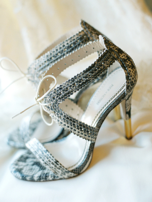 Reptile Print Shoes