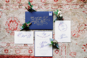 Royal Purple Invitations