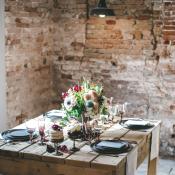 Rustic Loft Wedding Table