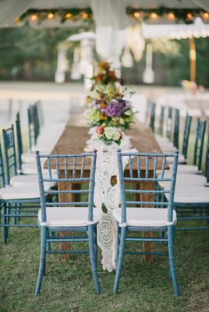 Turquoise Chiavari Chairs