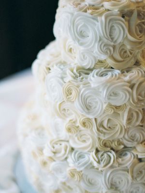 White Icing Rosettes
