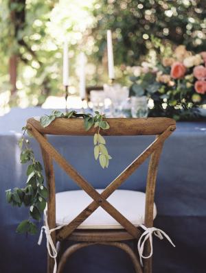 Wooden Farmhouse Wedding Chair