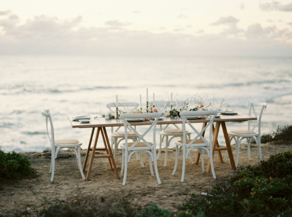 Beachside Wedding Table