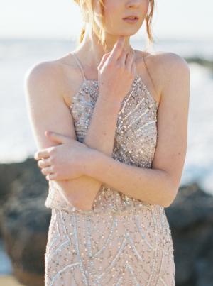Beaded Bridesmaid Dress