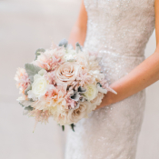 Beaded Davids Bridal Gown