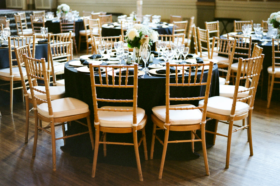 Black And Gold Wedding Reception Elizabeth Anne Designs The