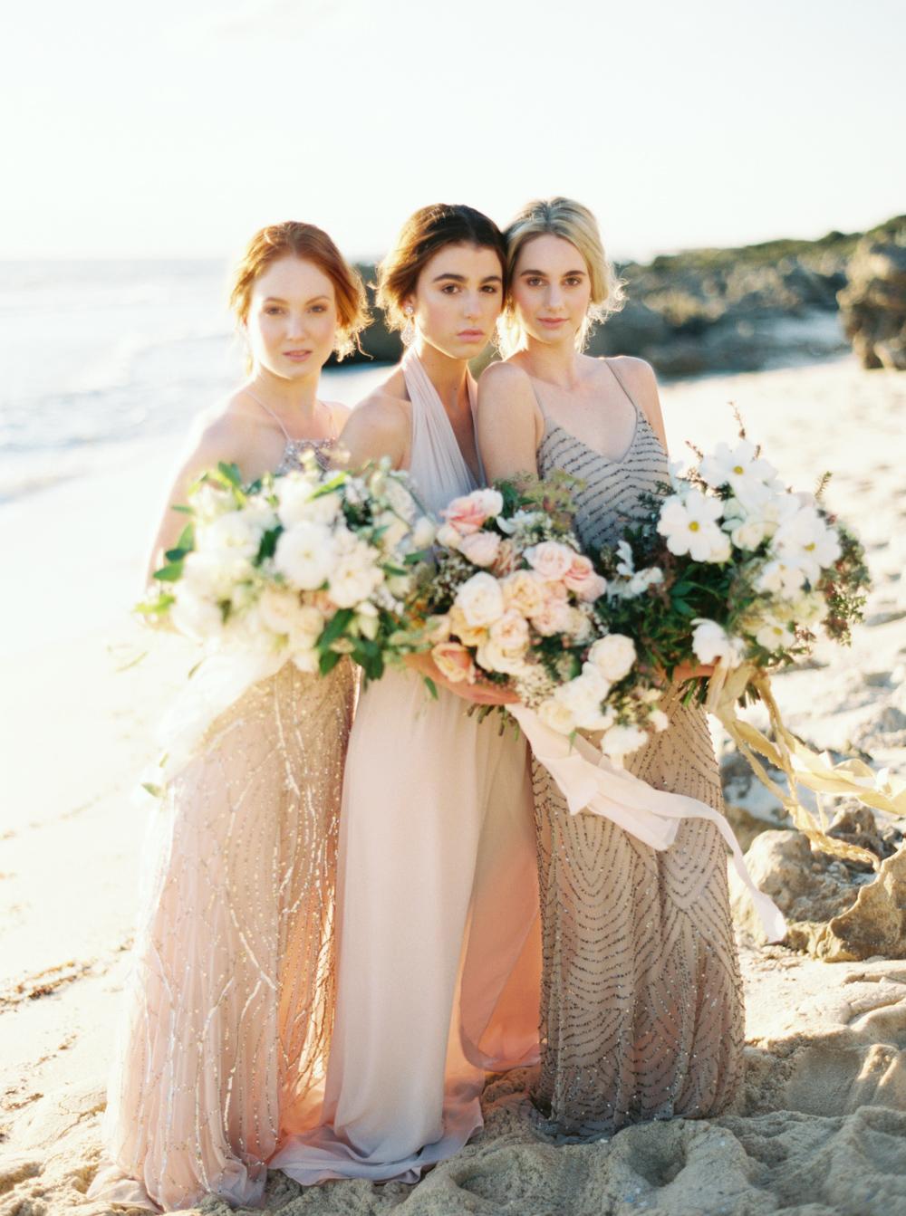 Blush and copper bridesmaids dresses elizabeth anne designs the blush and copper bridesmaids dresses elizabeth anne designs the wedding blog ombrellifo Choice Image