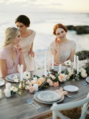Blush and Copper Wedding Ideas
