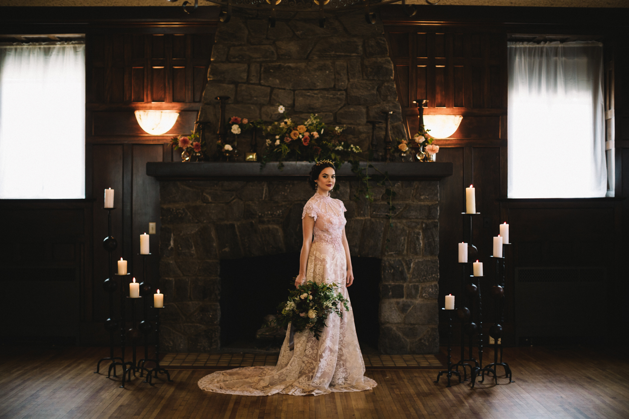 Southern gothic wedding