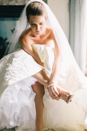 Bride in Tara Keely