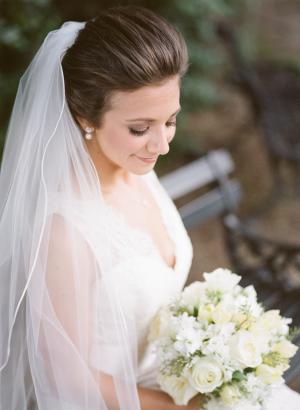 Bride with Classic Chignon