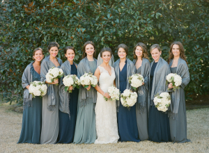 Bridesmaids in Pashminas1