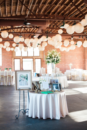 Chinese Lanterns at Wedding Reception