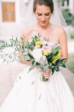 Colorful Bouquet with Greenery