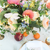 Colorful Wedding Flowers 2