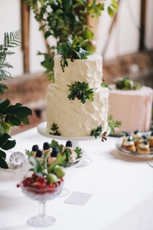 Display of Wedding Cakes