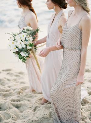 Elegant Beach Bridesmaid Ideas