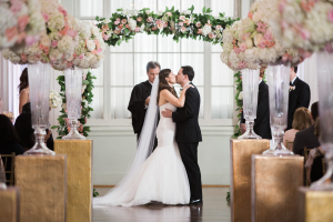 Floral Arch and Aisle for Wedding